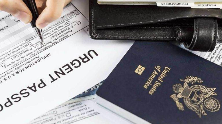 Illustrasjonsbilde av pass og dokumenter