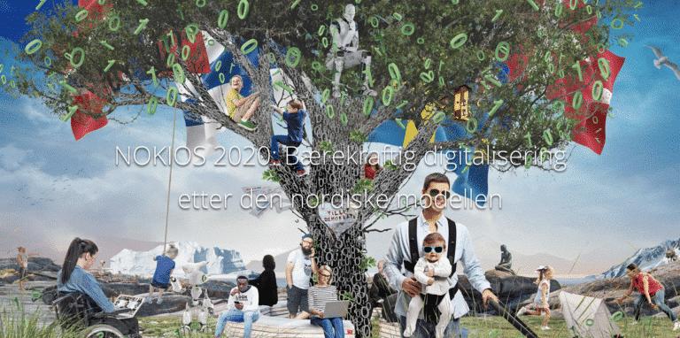 Plakat for Nokios konferansen 2020