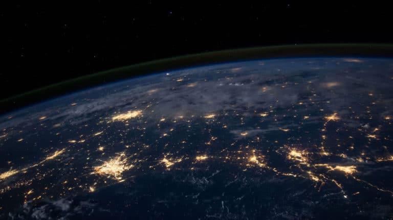 Sattelitt bilde av jordkloden