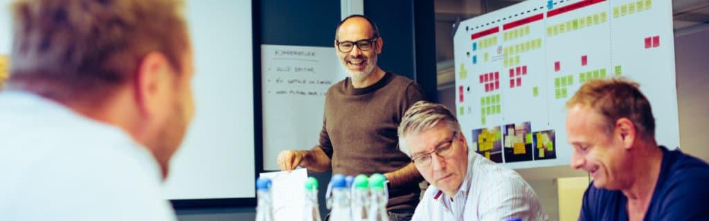 José holder Design sprint hos kunder