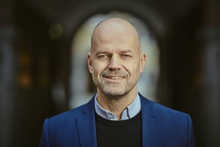 Portrætbillede af Jon Gunnar Aasen