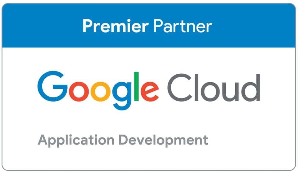 Partner badge for Google Cloud partner