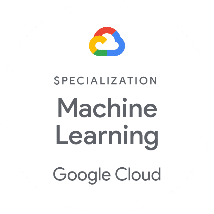 Partner badge for specialization in machine learning