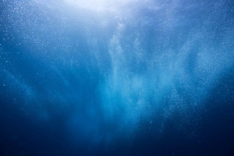 Bilde av havet under vann