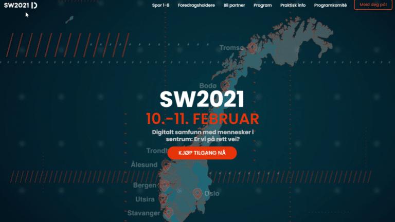 Software2021-screenshot-nettside